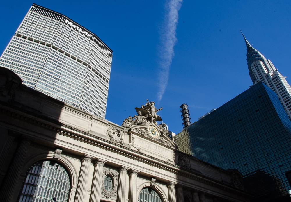 Grand Central, Met Life and Chrysler