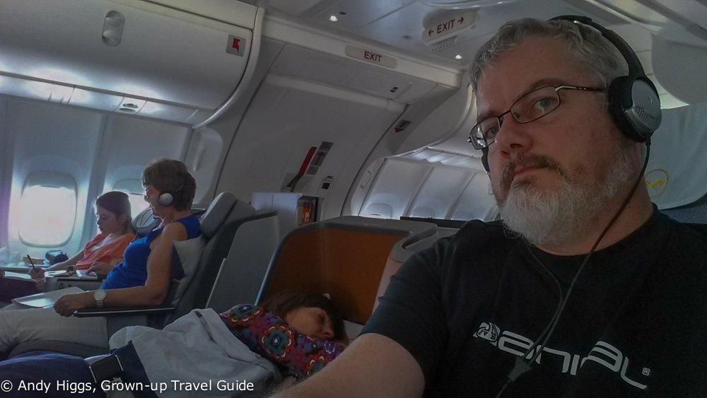 In flight headphones