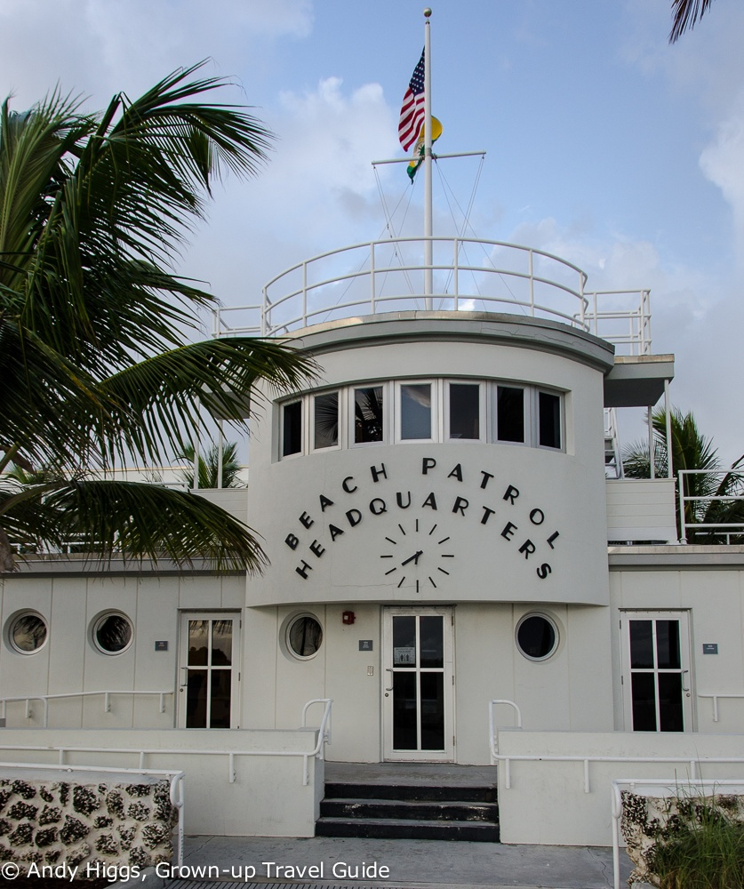 Lifeguards HQ front view