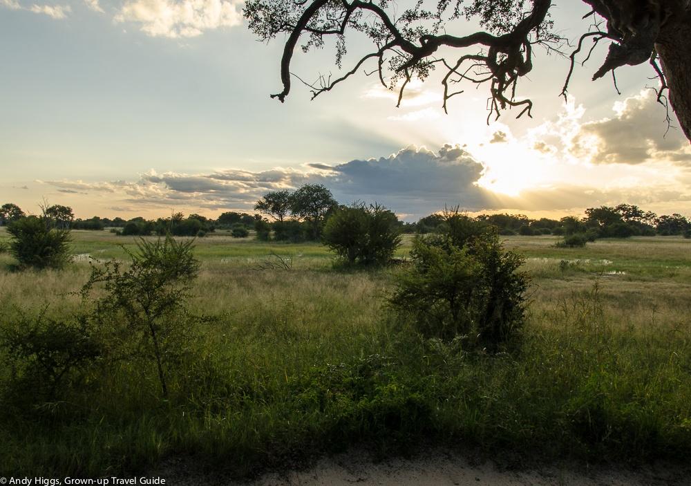 Sunset first day Bomani