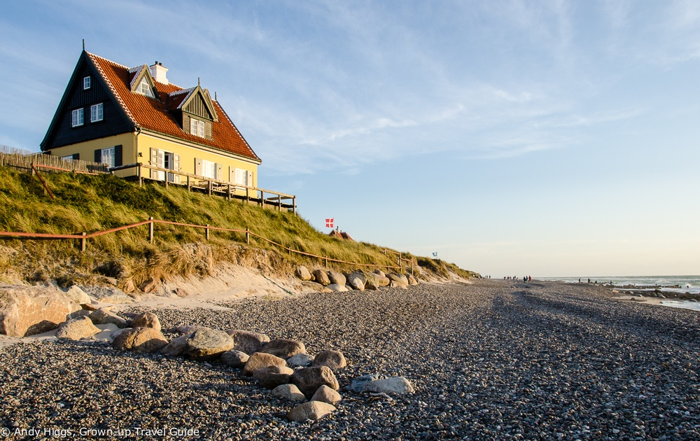 Beach at old Skagen, Denmark