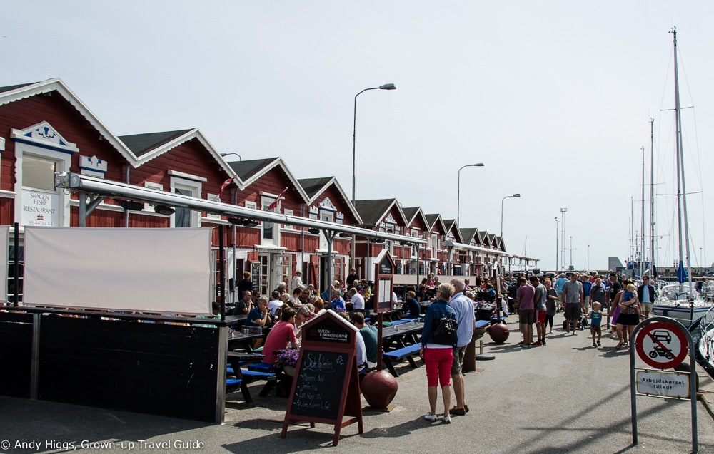 Harbour restaurants, Skagen, Denmark
