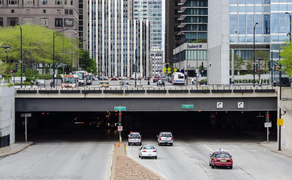 Underground tunnels chicago