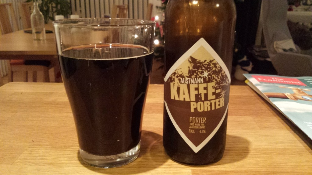 Grown-up Travel Guide Beer Diary Day 6: Kaffeporter from Austmann, Norway