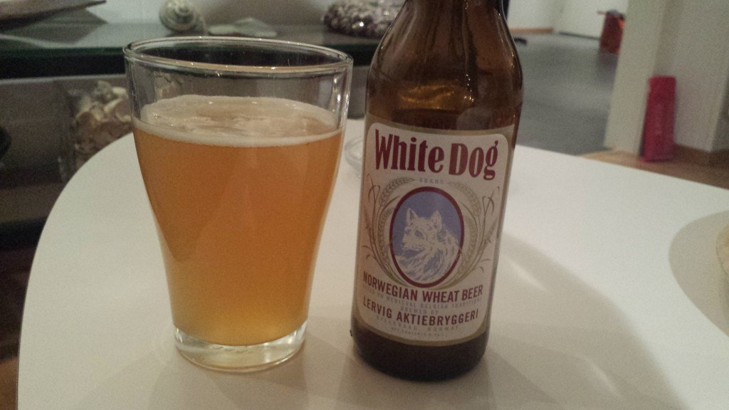 Grown-up Travel Guide Beer Diary Day 9: White Dog Norwegian Wheat Beer