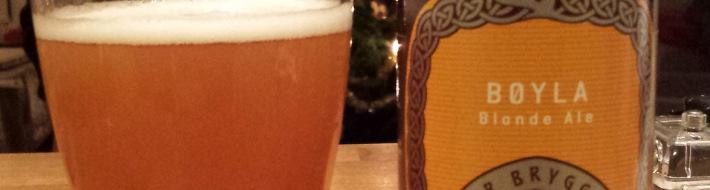 Grown-up Travel Guide Beer Diary Day 4: Bøyla Blonde Ale from Ægir Bryggeri, Norway