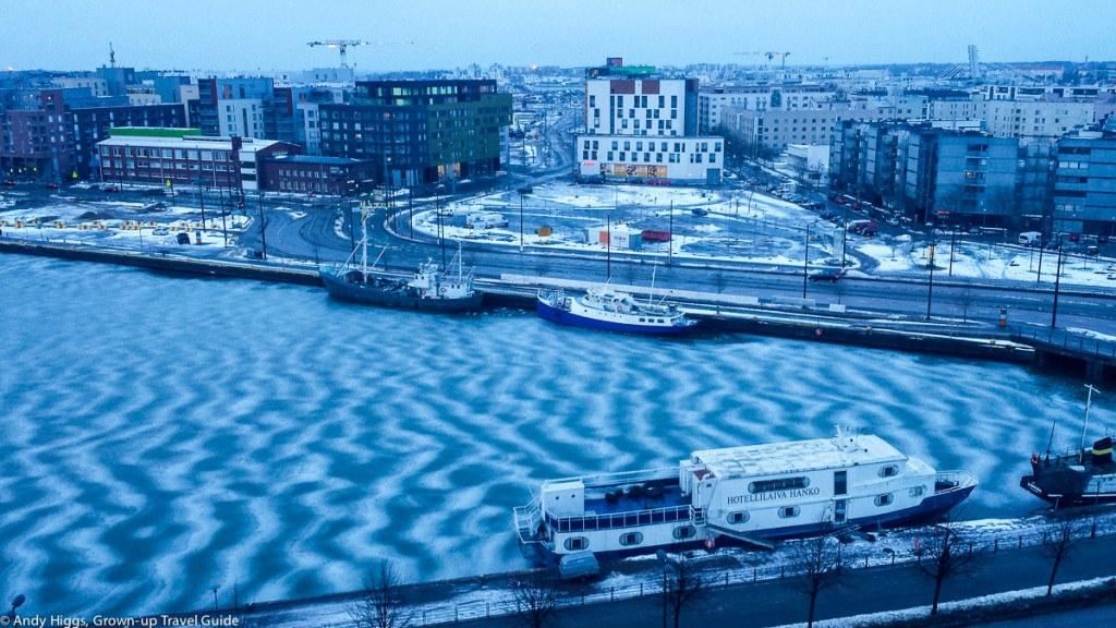 Helsinki frozen waves