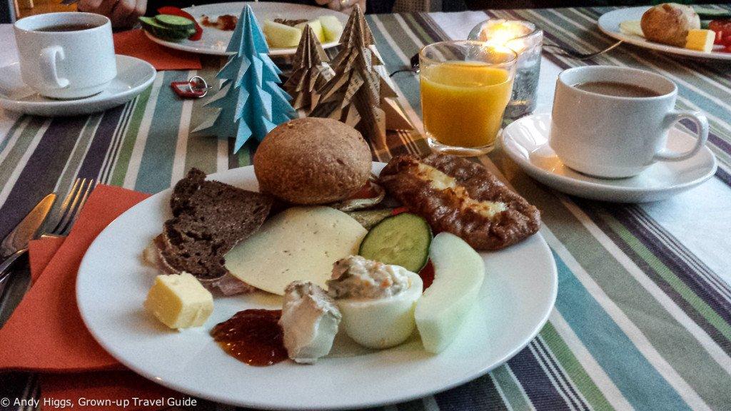 Sahanlahti breakfast