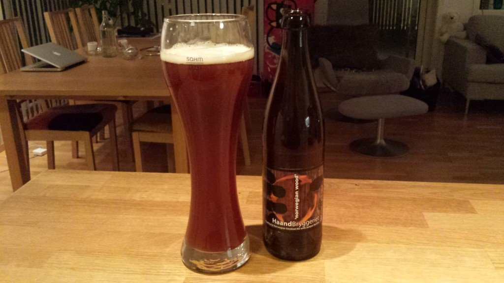 Grown-up Travel Guide Beer Diary Day 39: Norwegian Wood smoked ale by Haandryggeriet, Drammen, Norway