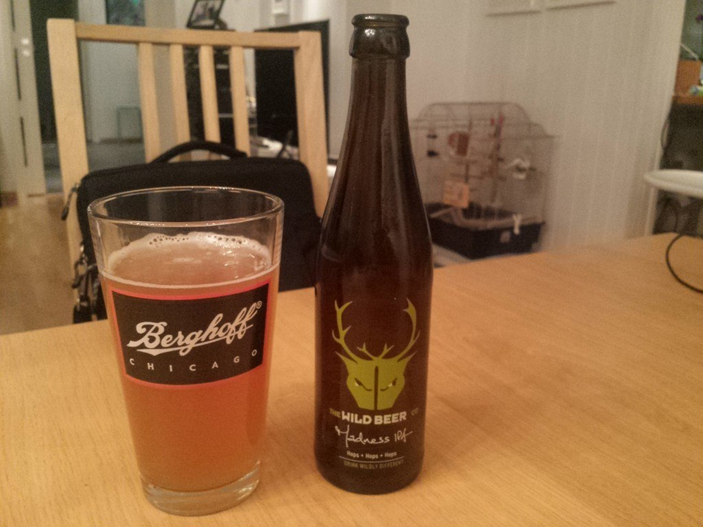 Grown-up Travel Guide Beer Diary Day 42: Madness IPA from The Wild Beer Co, Somerset, England