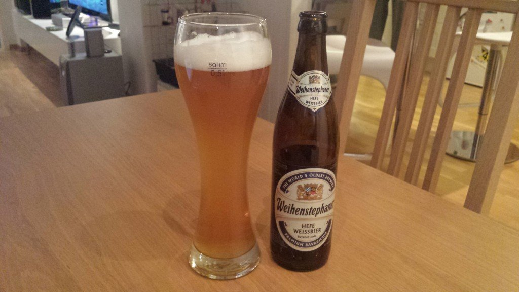 Grown-up Travel Guide Beer Diary Day 44: Hefeweissbier from Weihenstephan, Germany