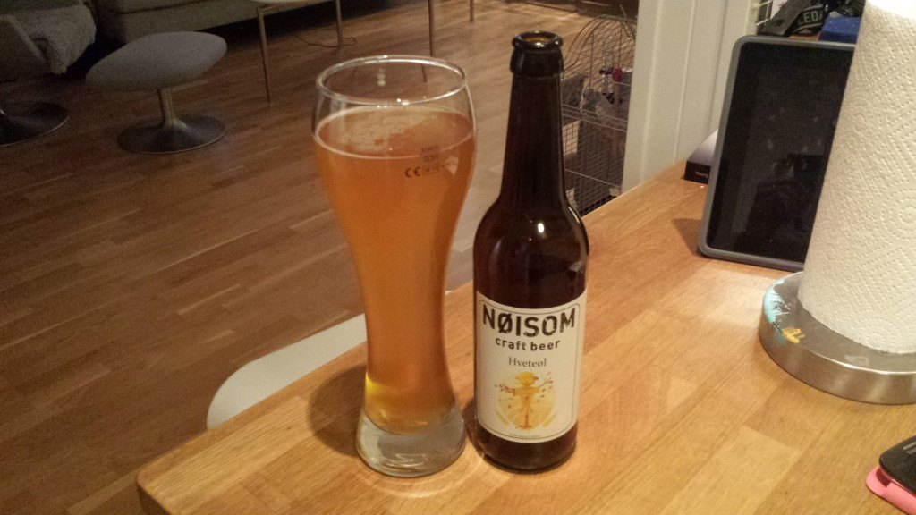 Grown-up Travel Guide Beer Diary Day 57: Hveteøl from Nøisom Craft Beer, Fredrikstad, Norway