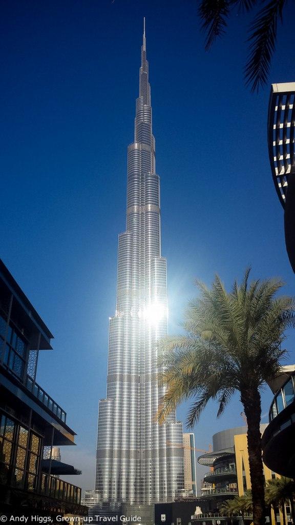 Burj Khalifa exterior