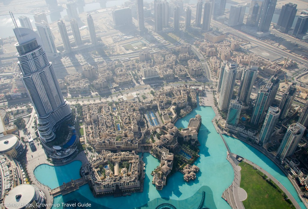 Burj Khalifa view down