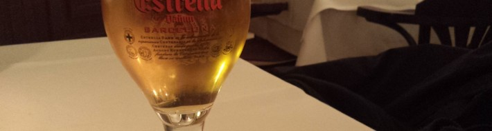 Grown-up Travel Guide Beer Diary Day 63: Estrella Damm, Barcelona, Spain