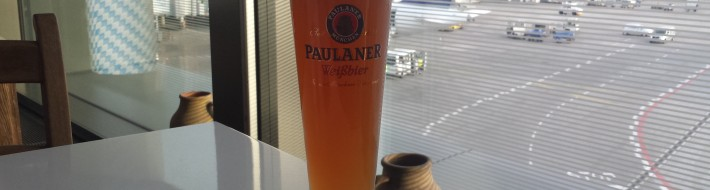 Grown-up Travel Guide Beer Diary Day 105: Paulaner Hefe Weissbier (draught) from Munich, Germany