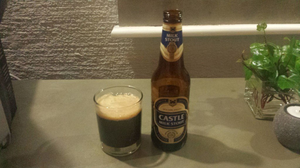 Grown-up Travel Guide Beer Diary Day 109: Castle Milk Stout from SAB Ltd of Sandton, South Africa