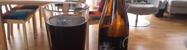 Grown-up Travel Guide Beer Diary - Day 120: Shot In The Dark by CAP Brewery of Stockholm, Sweden