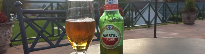 Grown-up Travel Guide Beer Diary Day 115: Amstel Lager from Brandhouse, Cape Town, South Africa
