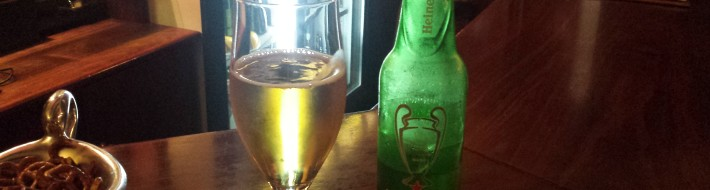 Grown-up Travel Guide Beer Diary Day 116: Heineken Lager from Brandhouse, Cape Town, South Africa