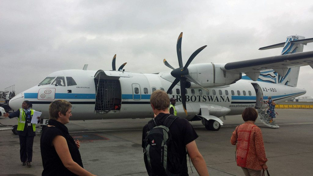 Air Botswana ready for boarding