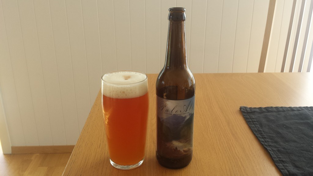 Grown-up Travel Guide Beer Diary - Day 173: Pale Ale from Hadeland Håndverksbryggeri of Gran, Norway