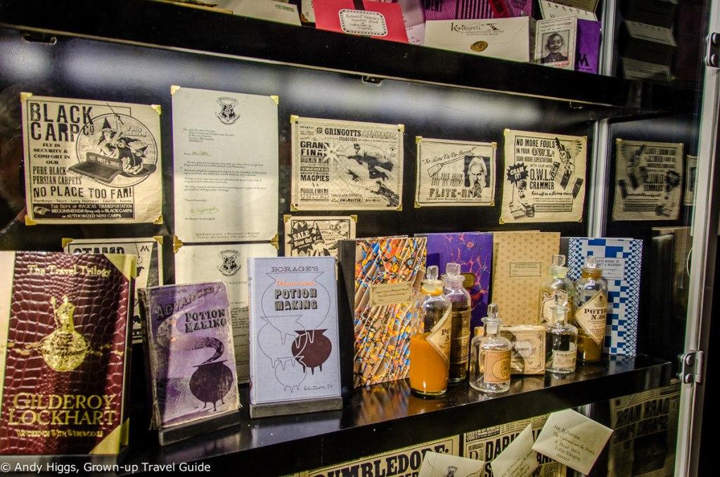 Books potions etc