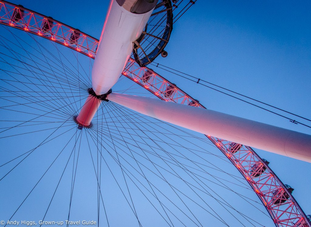 Under the London Eye