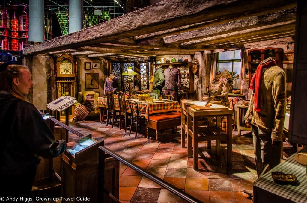 Weasley's kitchen