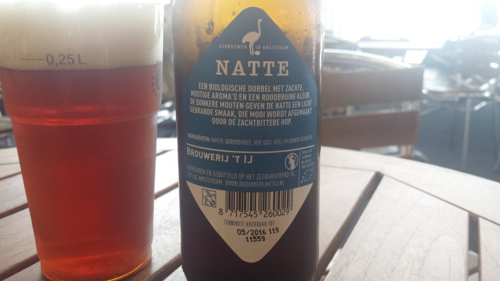 Grown-up Travel Guide Beer Diary - Day 183: Natte from Brouwerij't IJ of Amsterdam, the Netherlands