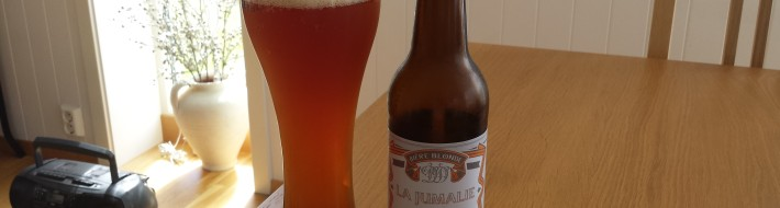 Grown-up Travel Guide Beer Diary - Day 186: La Jumalie from Brasserie Vigneron Brasseur of Montreuil, France