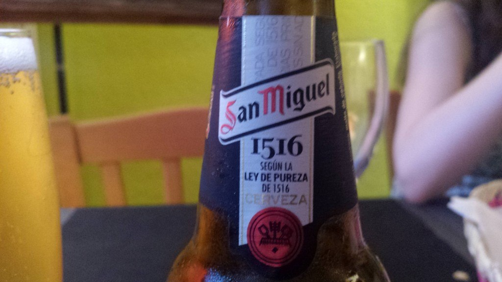 Grown-up Travel Guide Beer Diary - Day 201: San Miguel 1516 from San Miguel of Barcelona, Spain