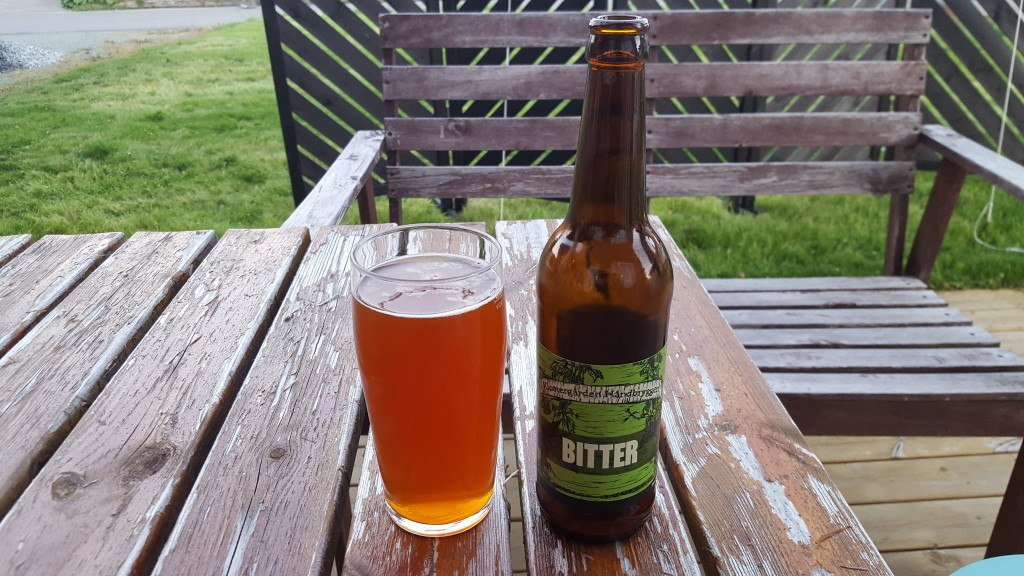 Grown-up Travel Guide Beer Diary - Day 232: Bitter from Klostergården Håndbryggeri of Tautra, Norway