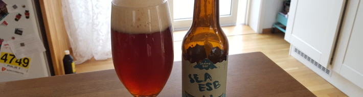 Grown-up Travel Guide Beer Diary - Day 237: Sea ESB from Austmann of Trondheim, Norway in collaboration with Ø-Bryg of Denmark