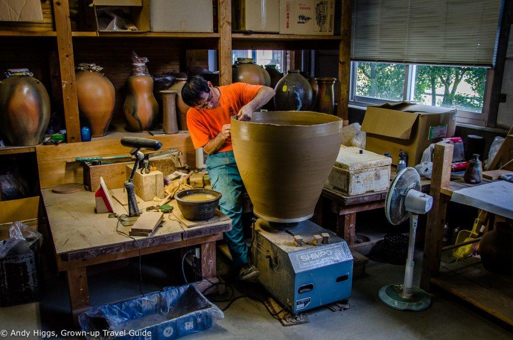 Awamori potter large