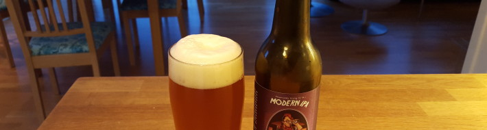 Grown-up Travel Guide Beer Diary - Day 266: Modern IPA from Amager Bryghus of Amager, Denmark
