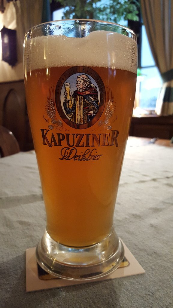 Grown-up Travel Guide Beer Diary - Day 288: Kapuziner Weissbier from Kulmbacher Brauerei of Kulmbach, Germany