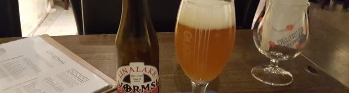 Grown-up Travel Guide Beer Diary - Day 300: Vormsi Linalakk from Metsamees of Laanemaa, Estonia