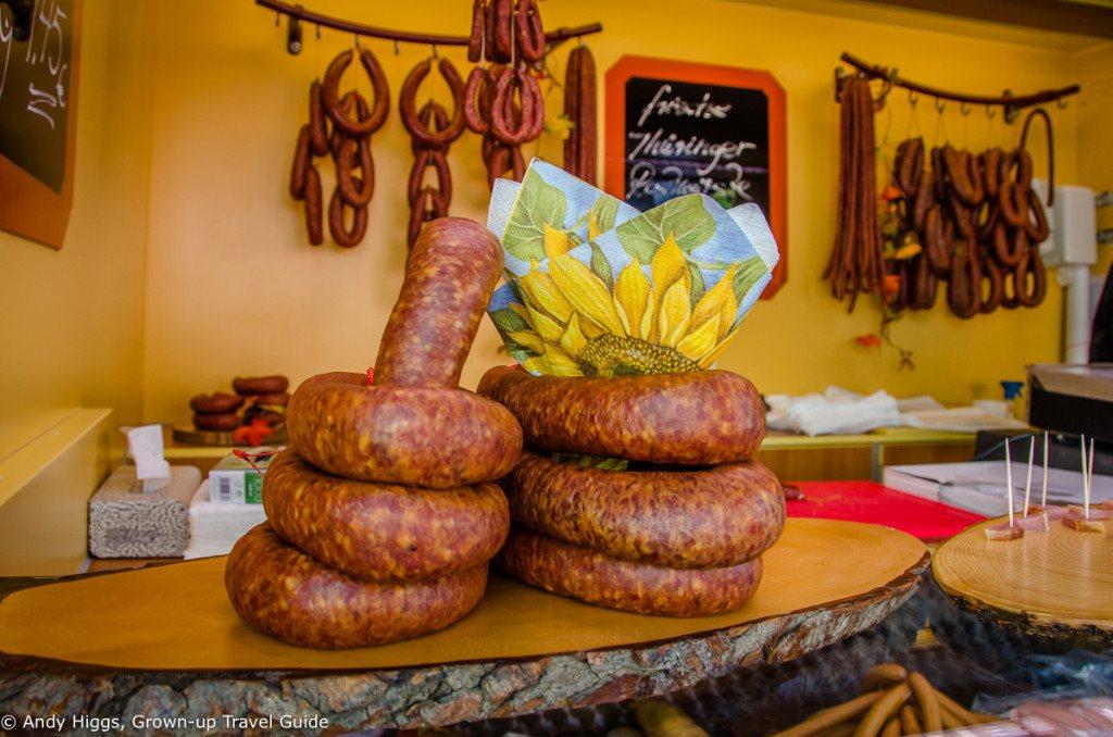 Sausage close-up