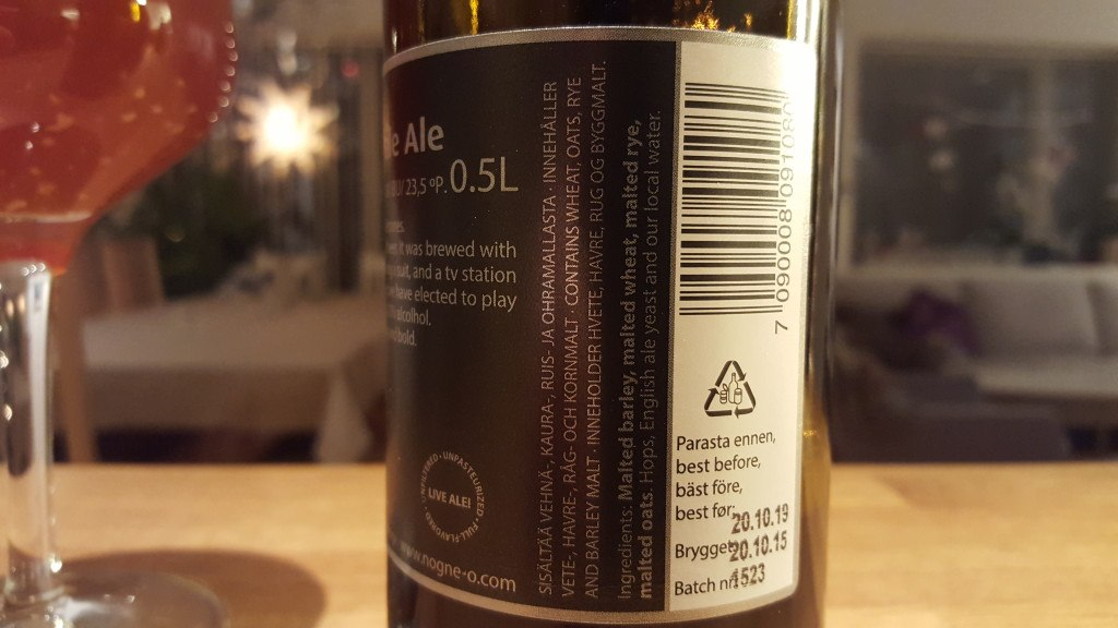 Grown-up Travel Guide Beer Diary - Number 367: #500 from Nøgne Ø of Grimstad, Norway