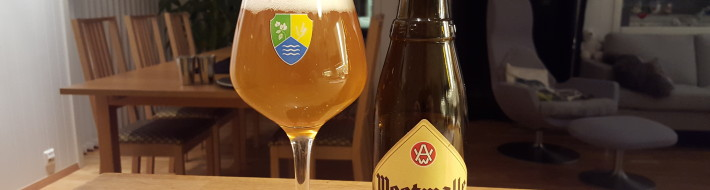 Grown-up Travel Guide Beer Diary - Day 374: Westmalle Trappist Tripel from Brouwerij der Trappist van Westmalle of Malle, Belgium
