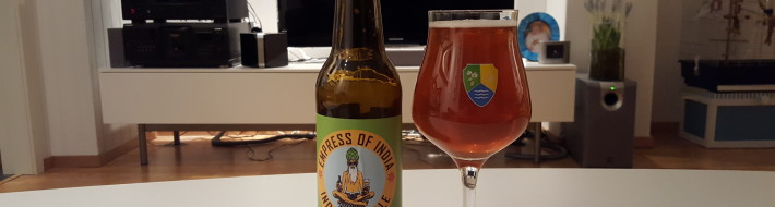 Grown-up Travel Guide Beer Diary - Day 375: Empress of India from Schouskjelleren Mikrobryggeri of Oslo, Norway