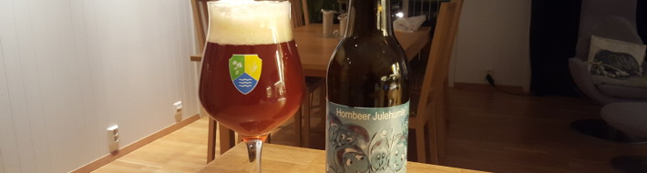 Grown-up Travel Guide Beer Diary - Number 377: Julehumle from Hornbeer of Kirke Hyllinge, Denmark
