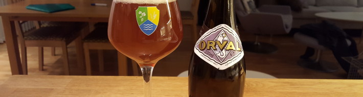 Grown-up Travel Guide Beer Diary - Day 381: Orval (2015) from Brasserie d'Orval of Villers d'Orval, Belgium