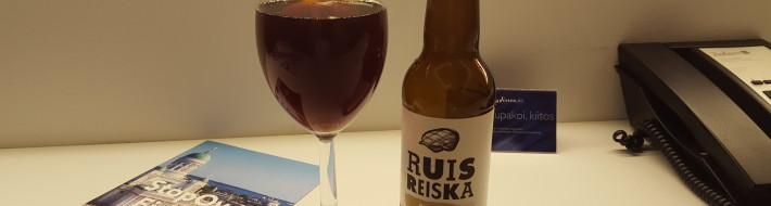 Grown-up Travel Guide Beer Diary - Number 385: RuisReiska from Panimo & Tislaamo of Helsinki, Finland