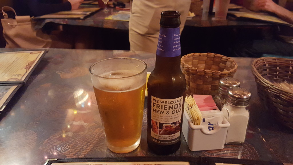 Grown-up Travel Guide Beer Diary - Number 390: Harpoon IPA from Harpoon Brewery of Boston, USA