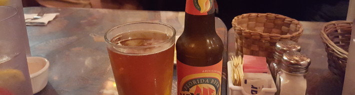 Grown-up Travel Guide Beer Diary - Number 391: Key West Sunset Ale from Florida Beer Company of Cape Canaveral, USA