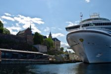 Akershus Fortress and cruise ship