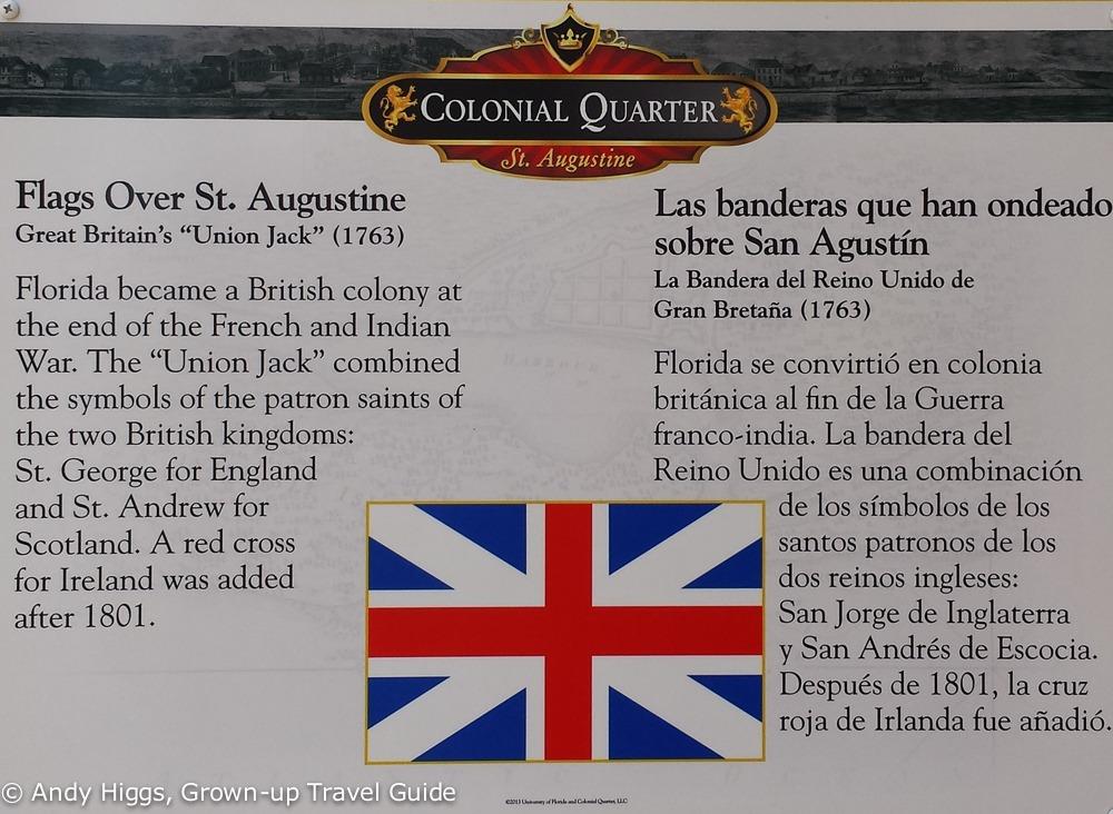 Union Jack St Augustine