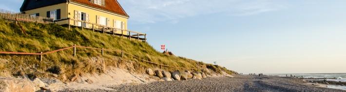 Beach at old Skagen, Denmark